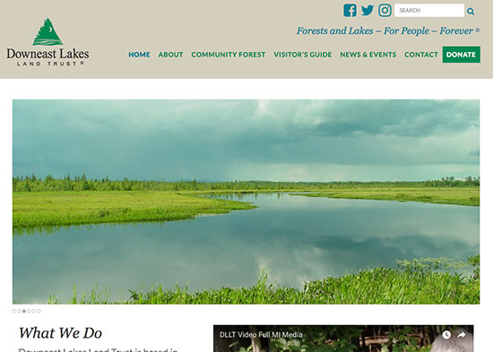 Downeast Lakes Land Trust: Protecting lakeshores, improving fish and wildlife habitats, providing public recreation opportunities