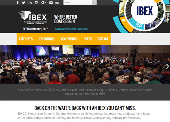 IBEX Show International Boatbuilders Expo and Conference