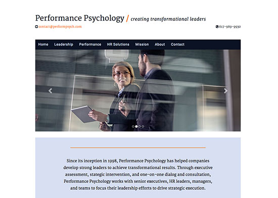 Performance Psychology Dr. Paul Napper
